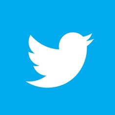 Twitter square logo
